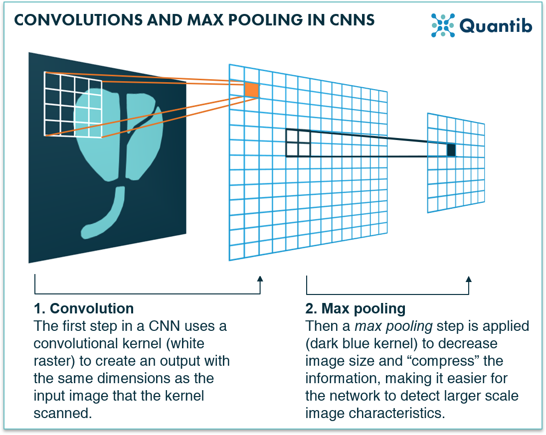 convolutional neural network max pooling operation kernel scan