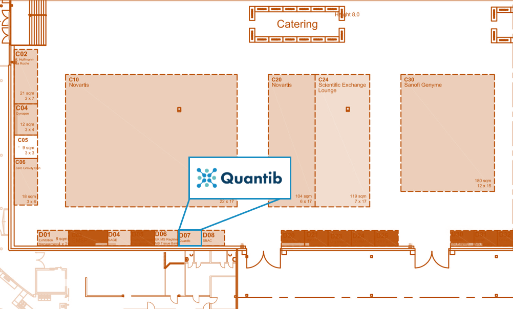 ECTRIMS 2019 Floor plan